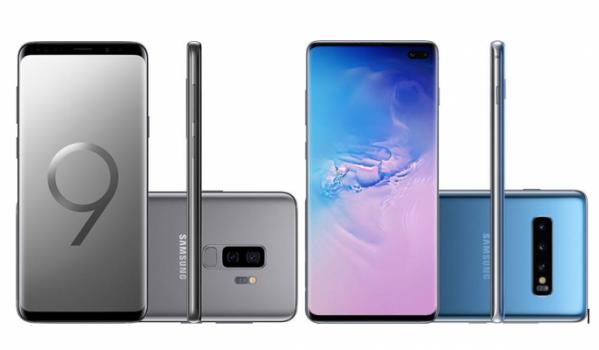 Galaxy S9 Plus vs Galaxy S10+