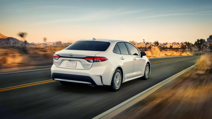 Preço Toyota Corolla EUA