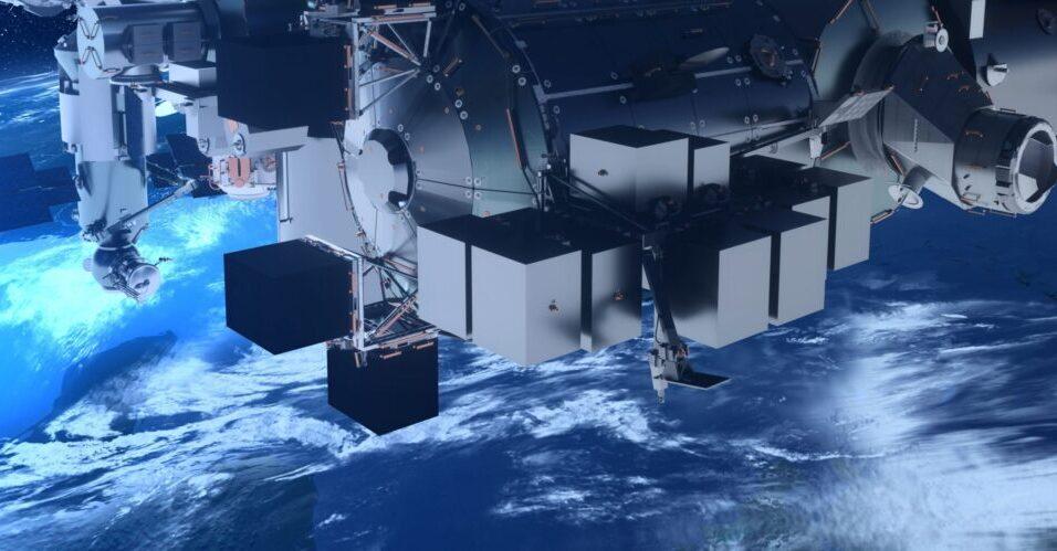 Airbus fábrica na Lua