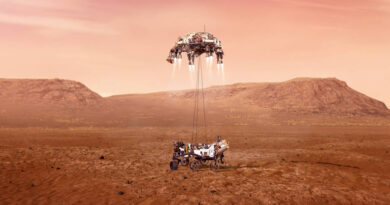 entrada Perseverance atmosfera Marte