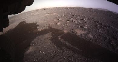 Perseverance Primeiras Imagens da Cratera Jezero Marte