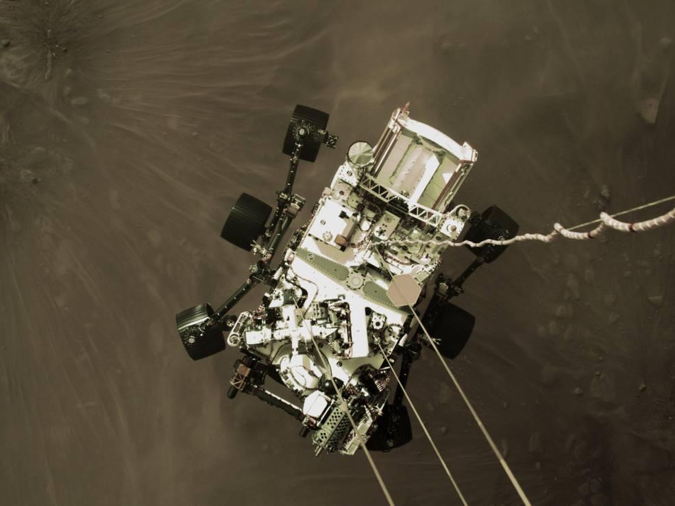 Robô Perseverance Jezero Marte