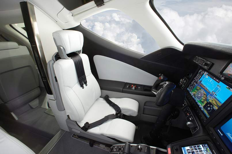 HondaJet um piloto