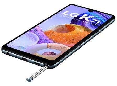 Preço LG K71 EUA